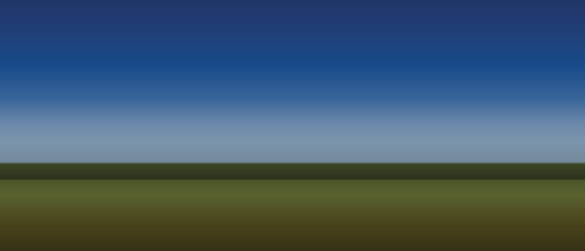 Landscape gradient for sky and fields